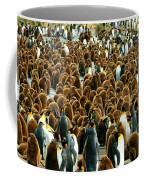 King Penguin Colony Coffee Mug