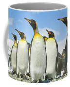 King Penguins Looking Coffee Mug