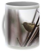 King - Ruby Crowned Kinglet - Bird Coffee Mug