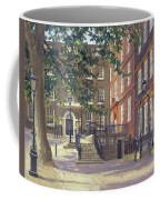 Kings Bench Walk, Inner Temple Oil On Canvas Coffee Mug