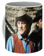 Kirk Douglas Johnny Cash A Gunfight  Old Tucson Arizona 1971 Coffee Mug