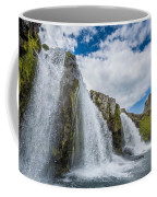 Kirkjufellsfoss Waterfalls, Church Coffee Mug