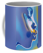 Kiss Series Blues And Yellows Coffee Mug