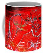Kissing Couple Coffee Mug
