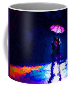 Kissing In The Rain Coffee Mug