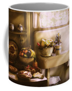 Kitchen - A 1930's Kitchen  Coffee Mug by Mike Savad