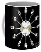 Kitchen Clock Coffee Mug