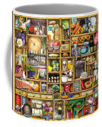 Kitchen Cupboard Coffee Mug by Colin Thompson