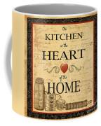 Kitchen Is The Heart Coffee Mug