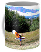Kite Boarding Family Coffee Mug by Joseph Coulombe