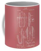 Kite Patent On Red Coffee Mug