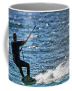 Kite Surfing Splash Coffee Mug by Dan Sproul
