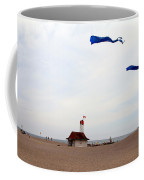 Kites Over Lake Ontario Beach Coffee Mug
