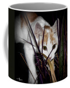 Kitten In The Plant Coffee Mug