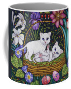 Kittens In A Basket Coffee Mug