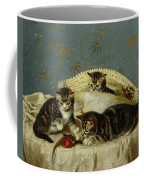 Kittens Up To Mischief Coffee Mug