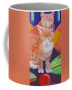 kittens With A Ball of Wool Coffee Mug