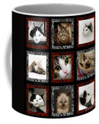 Kitty Cat Tic Tac Toe Coffee Mug