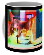 Kitty Eyes Coffee Mug