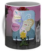 Kitty Says Every Day Is A New Beginning Coffee Mug