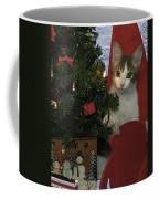 Kitty Says Happy Holidays Coffee Mug