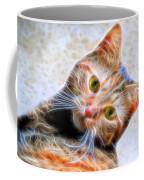 Kitty Strange Coffee Mug