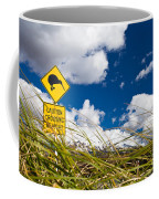 Kiwi Crossing Road Sign In Nz Coffee Mug
