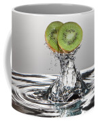Kiwi Freshsplash Coffee Mug by Steve Gadomski