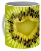 Kiwi Fruit Macro 2 Coffee Mug