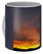 Klamath Sunset Of Fire Coffee Mug