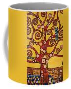Klimt Study Tree Of Life Coffee Mug
