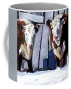 Knee Deep Coffee Mug by Molly Poole