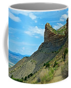 Knife Edge Road Overlooking Montezuma Valley In Mesa Verde National Park-colorado  Coffee Mug
