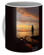 Knight At Sunrise Coffee Mug