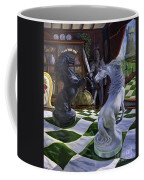 Knight's Magic Coffee Mug by Jeanne Newton Schoborg