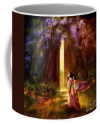 Knock At The Door Coffee Mug