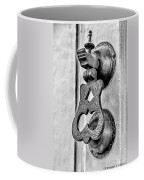 Knock Knock - Bw Coffee Mug