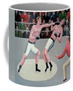 Knock Out Coffee Mug by Jerzy Marek