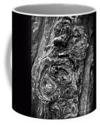 Knots And Swirls Bw Coffee Mug