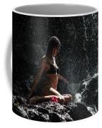 Knowledge. Anna At Eureka Waterfalls. Mauritius Coffee Mug