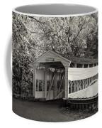 Knox Covered Bridge In Sepia Coffee Mug