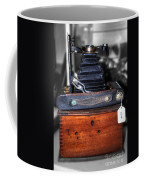 Kodak Folding Autographic Brownie 2-a Coffee Mug by Kaye Menner