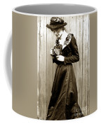 Kodak Girl With A Folding Camera Circa 1918 Coffee Mug