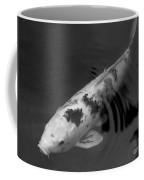 Koi In Black And White Coffee Mug