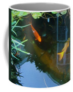 Koi - Oil Painting Effect Coffee Mug