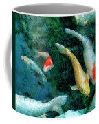 Koi Pond 2 Coffee Mug