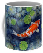 Koi Pond Coffee Mug