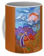Kokopelli Bringing The Rains Coffee Mug