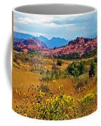 Kolob Terrace Road In Zion National Park-utah Coffee Mug