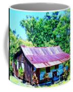 Kona Coffee Shack Coffee Mug by Dominic Piperata